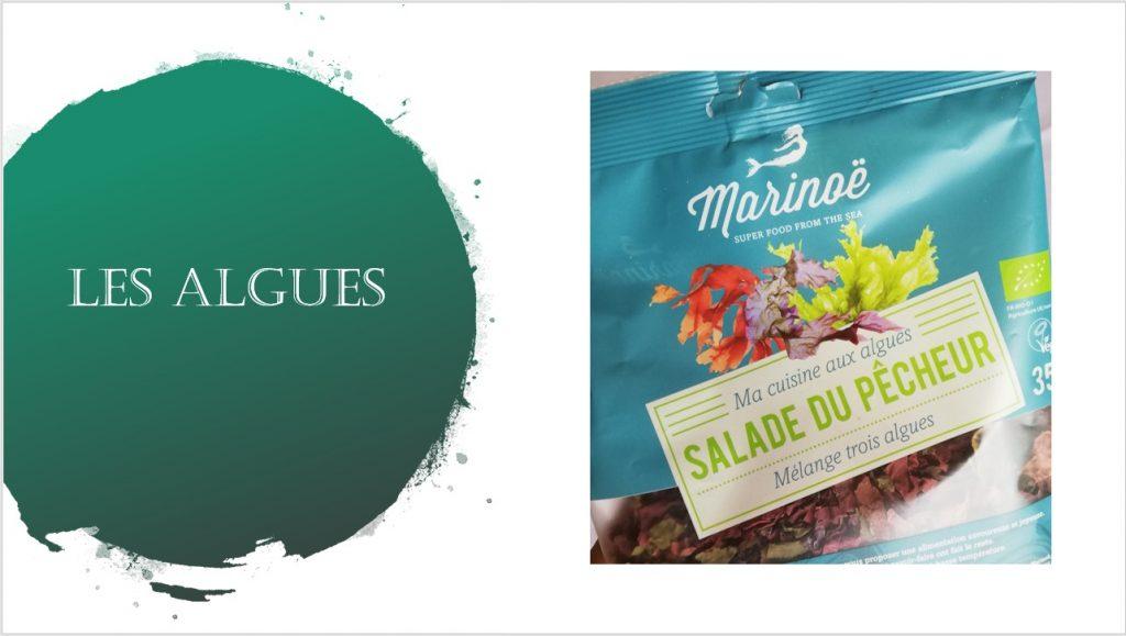 les algues, un de mes indispensables alimentaires