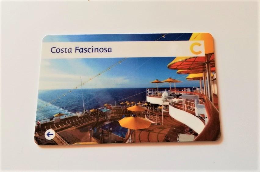Carte de Paiement du costa