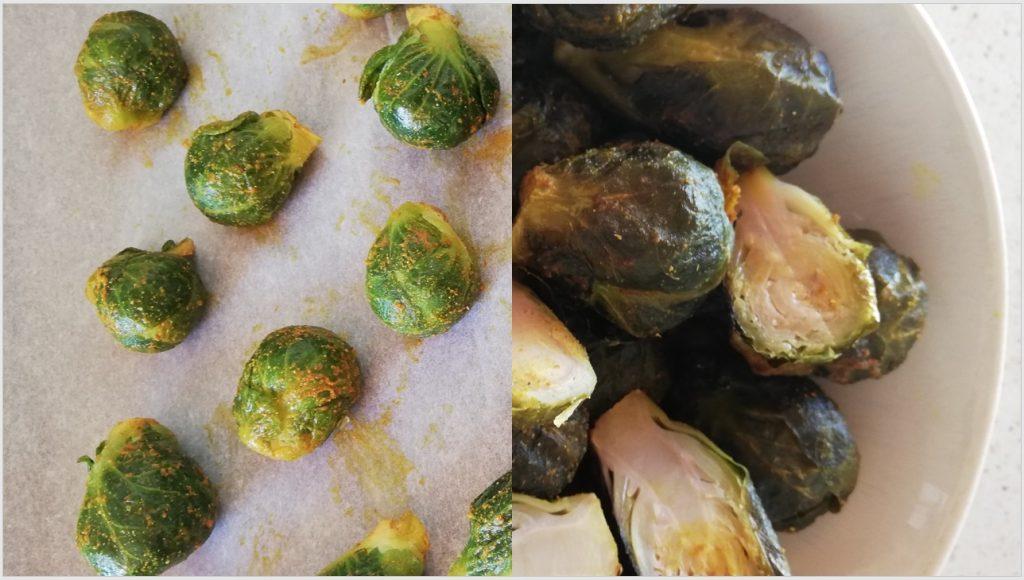 recette de choux de Bruxelles braisés aux épices