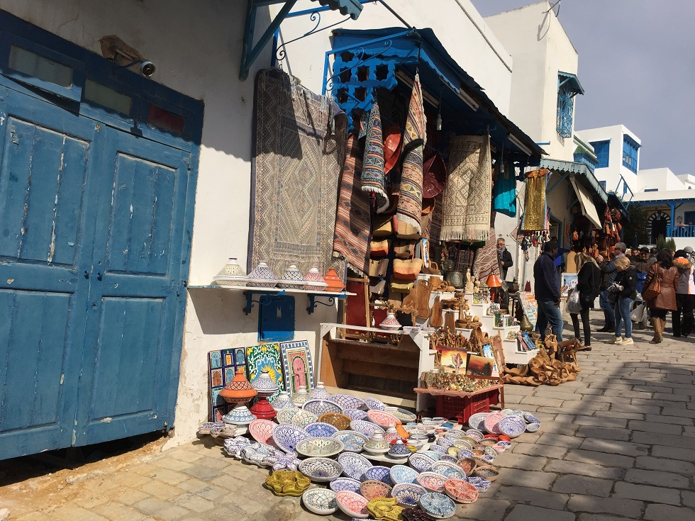 balade dans les ruelles de Tunis