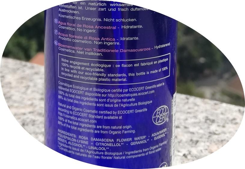 L'eau florale de rose - Melvita