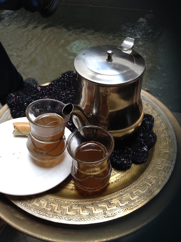 Thé vert du maroc
