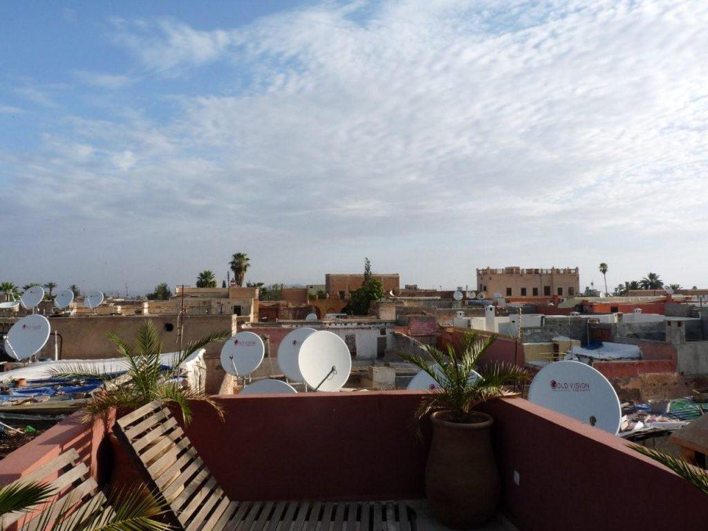 les toits de Marrakech (Maroc)