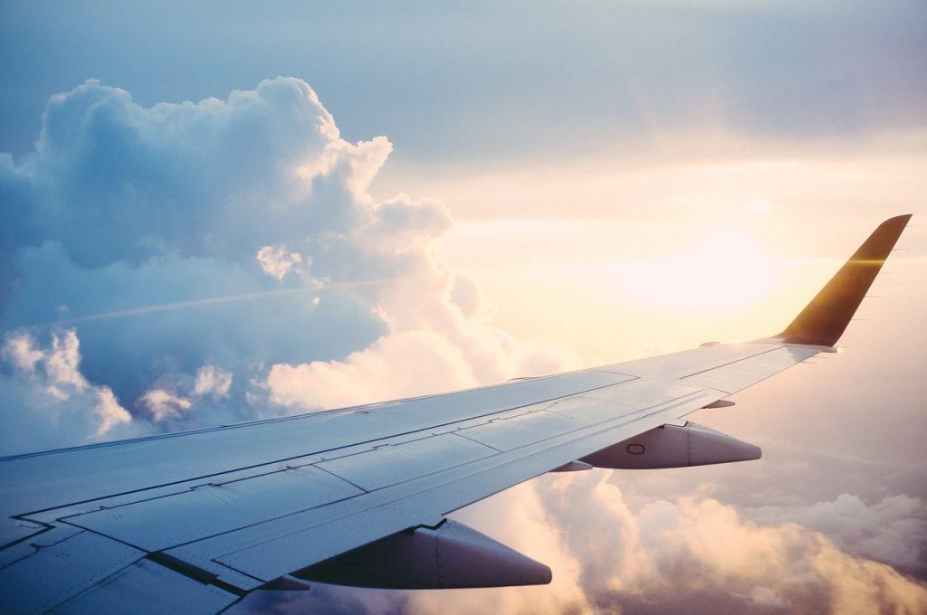 Avion fin des vacances