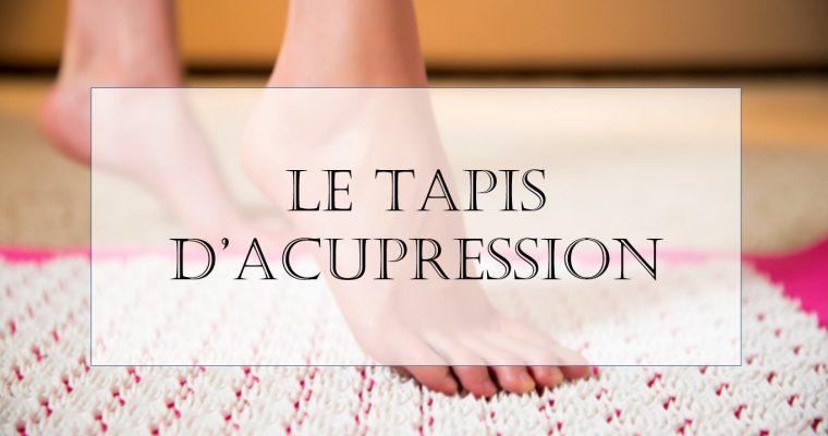 Le tapis d'acupression