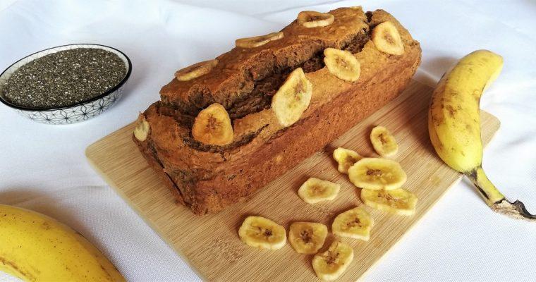 Banana Bread aux graines de Chia