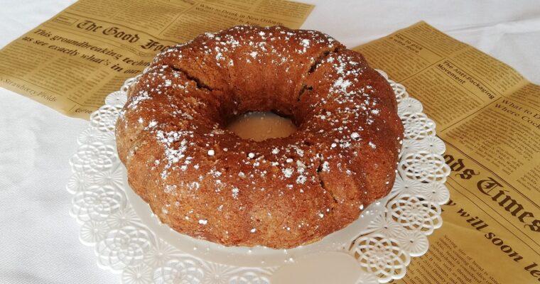 Gâteau à la farine de châtaigne Vegan