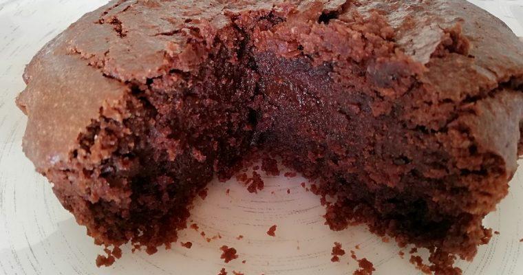 Gâteau choco-courgette Végan
