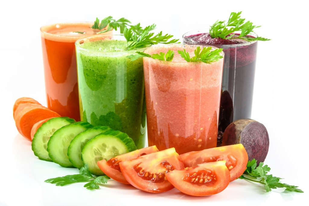 une cure de jus de fruits