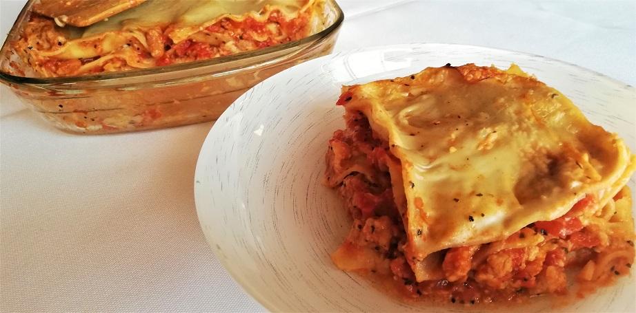 lasagne veggie prête