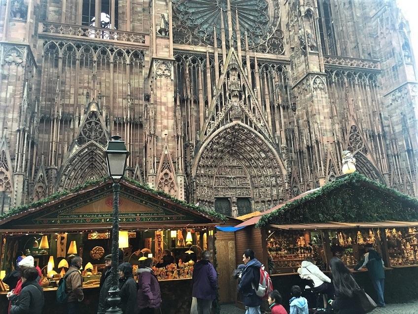 la cathédrale Notre Dame de Strasbourg En alsace