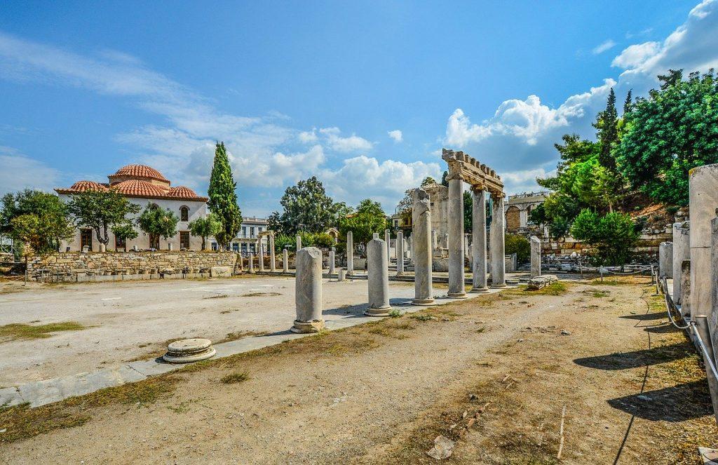 l'agora romaine d'Athènes