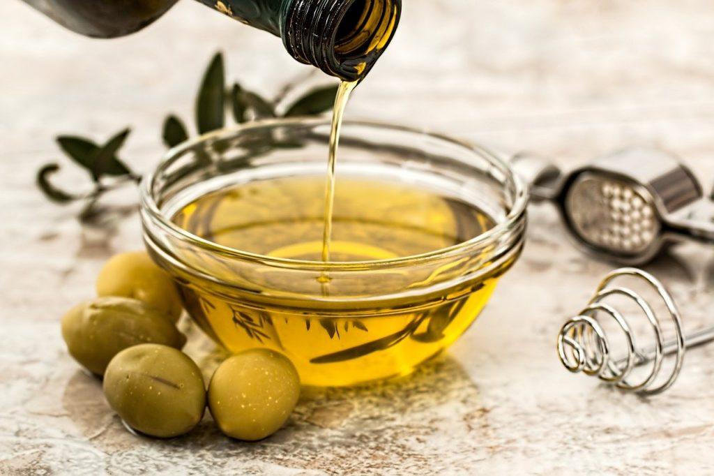 l'huile d'olive en cuisine