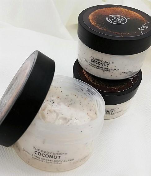 exfoliant coco pour le corps
