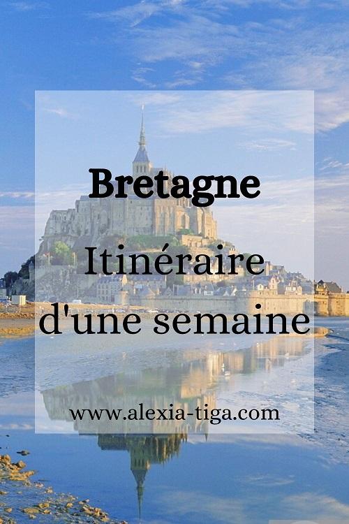 visiter la Bretagne en une semaine