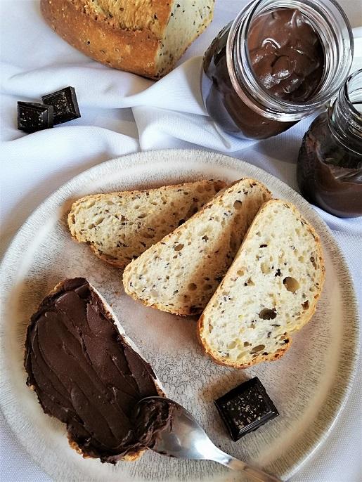 pâte à tartiner maison au chocolat sans noisette