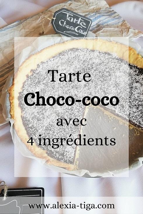 tarte choco-coco simplissime