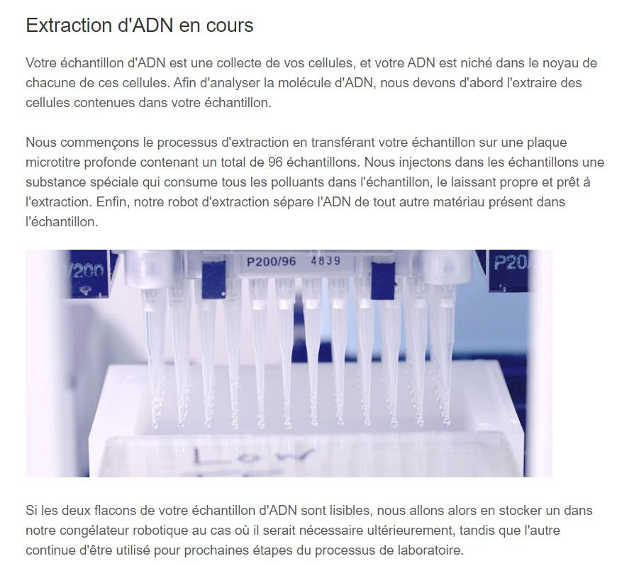 MyHeritage ADN avis