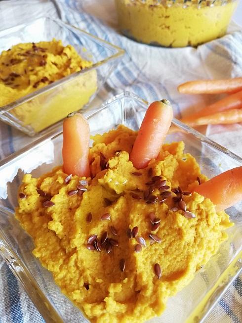 houmous de carottes simplissime