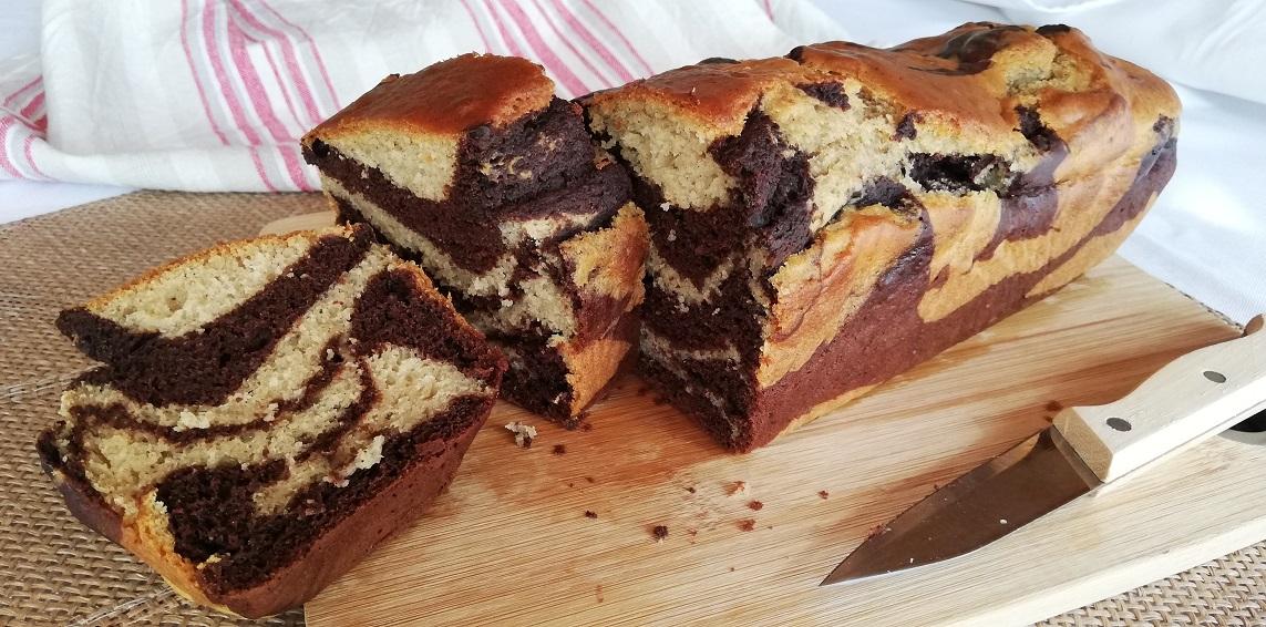 Cake marbré Vegan