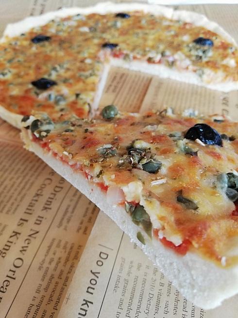 recette de la pizza aux câpres