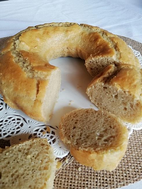 gâteau à la vanille vegan