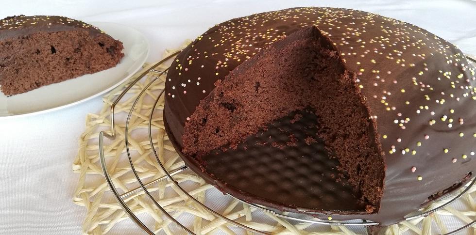 Gâteau au chocolat et son nappage