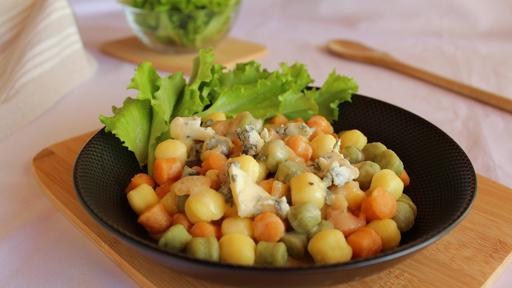 Gnocchis au gorgonzola