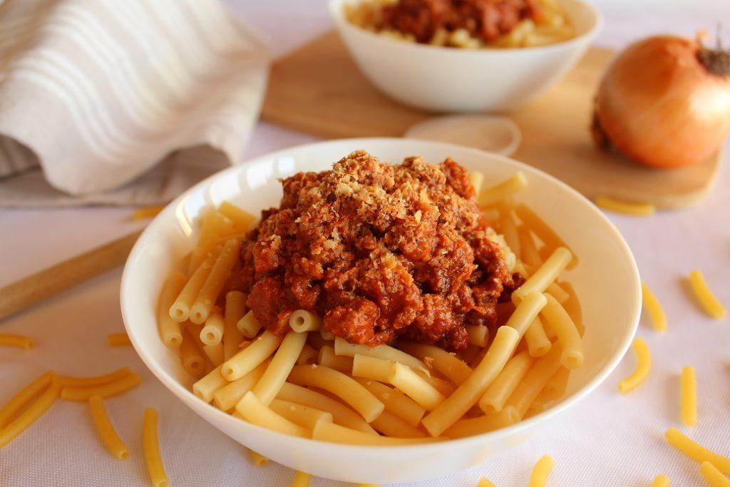recette des pâtes à la bolognaise vegan