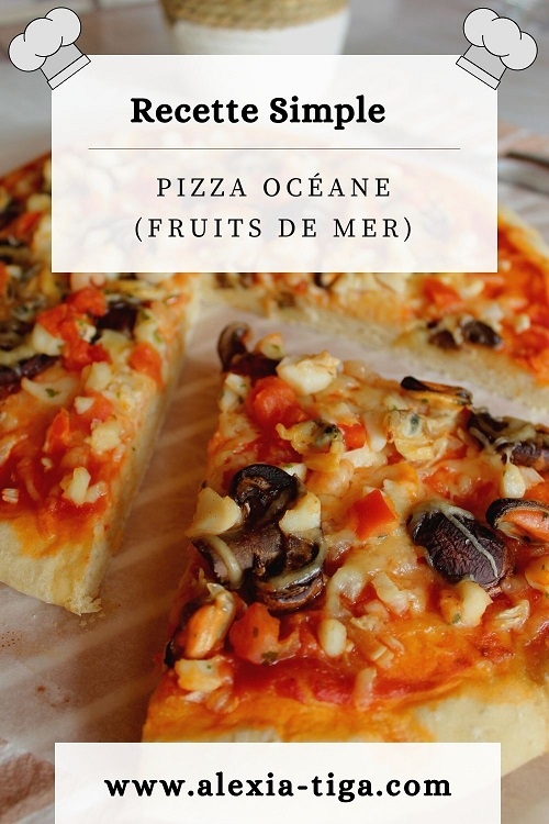 la pizza océane (aux fruits de mer)