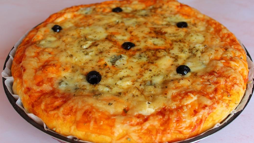 La Pizza aux fromages