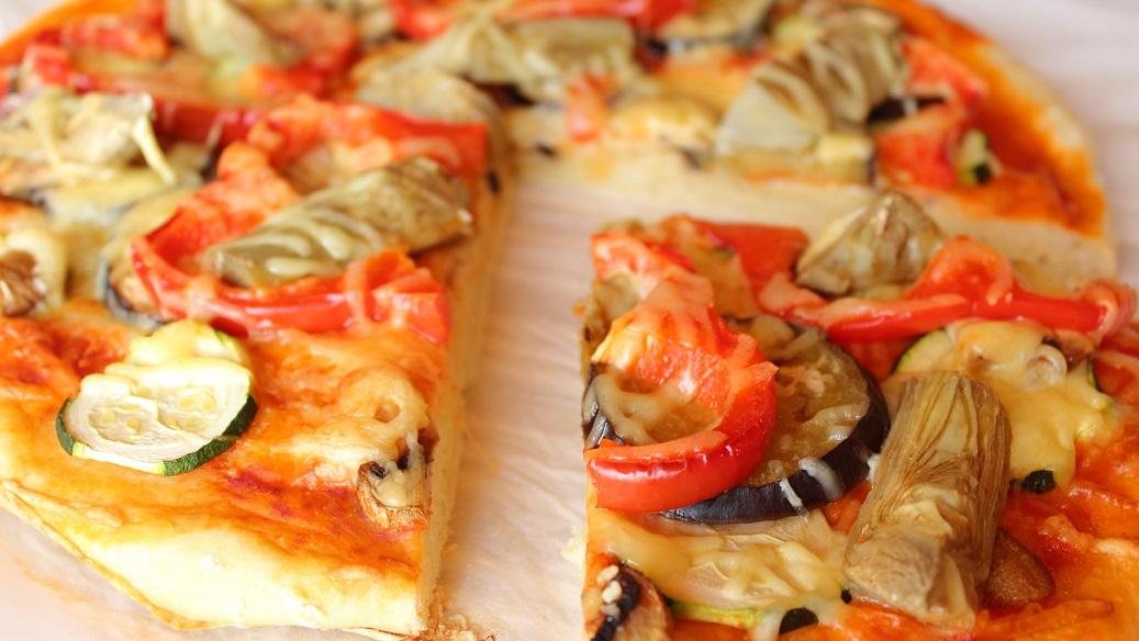 La pizza végétarienne
