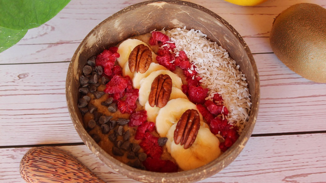 Smoothie bowl banane énergétique