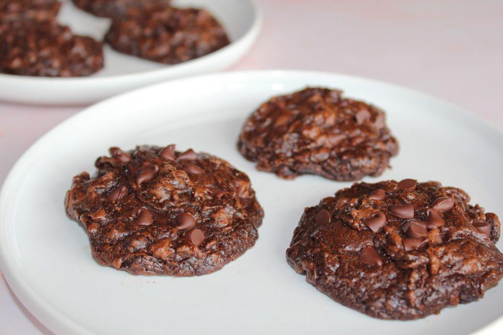 cookies façon brownie vegan