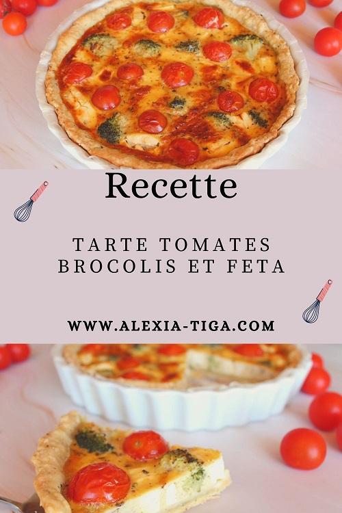 tarte tomates brocolis et feta