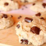 cookies à la banane et au chocolat vegan